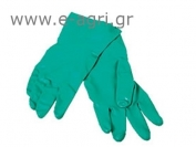 GLOVES NITRILE  for ACIDS (Green)No 8,5