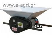 GRAPE CRUSHER electric 1HP 90x60cm