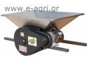 GRAPE CRUSHER electric 1HP INOX 90X60cm
