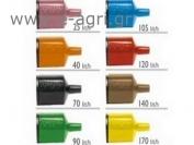 FLOWRATE AUTOREGULATOR FOR MICROSPRAYER (ORANGE) 40Lt