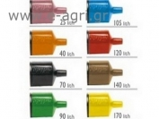 FLOWRATE AUTOREGULATOR FOR MICROSPRAYER (BLACK) 70Lt