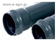 IRRIGATION PIPE PVC PN6 Φ110Χ6m