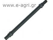 PVC SPAGHETTI Ø7 (with two adaptors) 0,80Μ