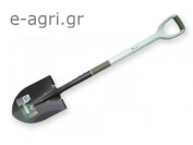 ROUND POINT SHOVEL LETTICIA WITH CARBON HANDLE